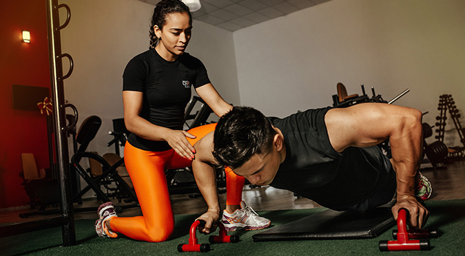 personal training as a gym member engagement idea